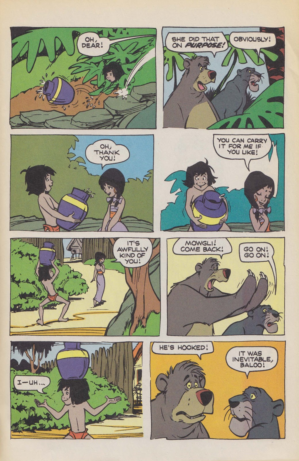 Read online The Jungle Book comic -  Issue # Full - 65