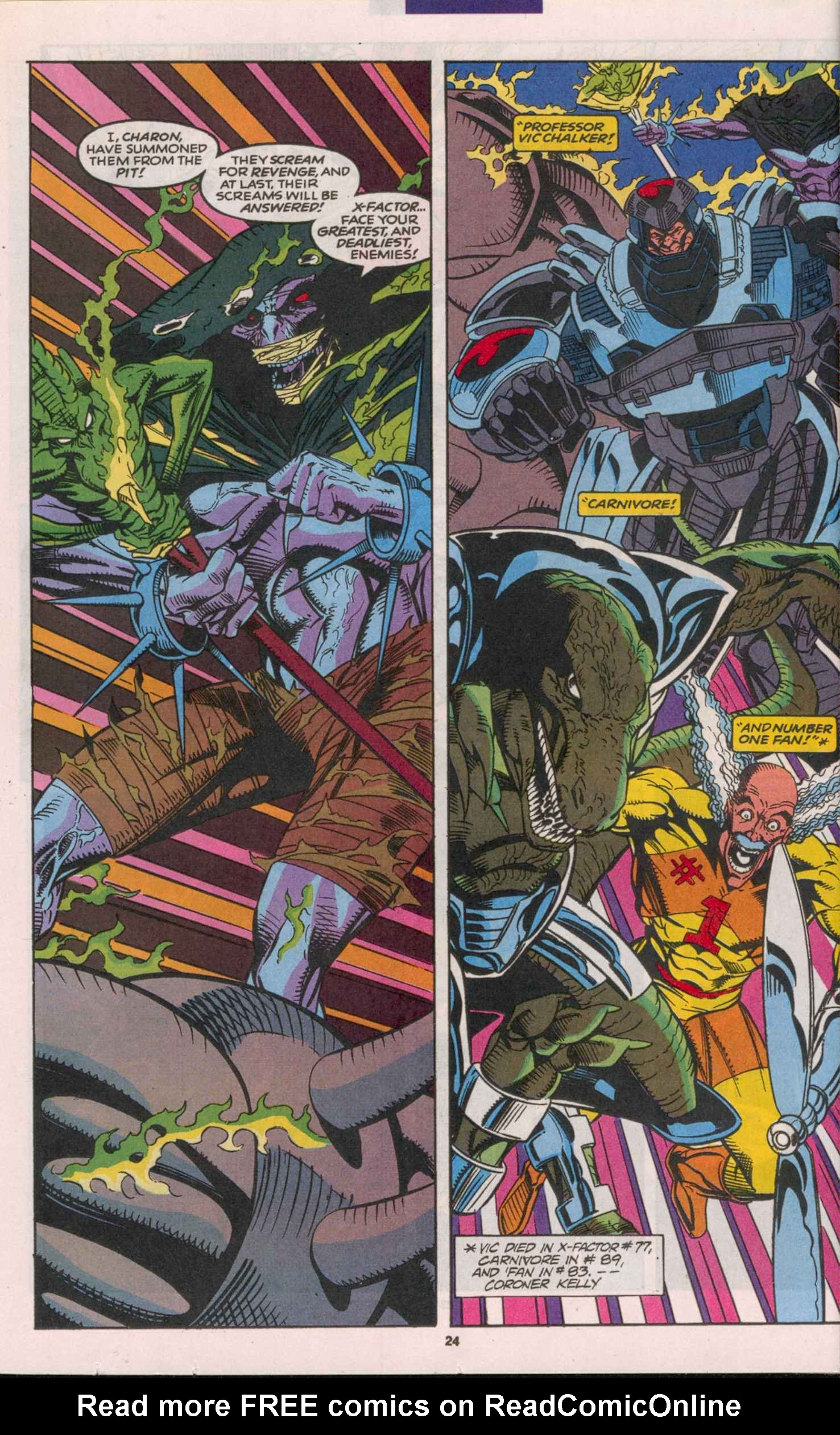 Read online X-Factor (1986) comic -  Issue # _ Annual 8 - 22