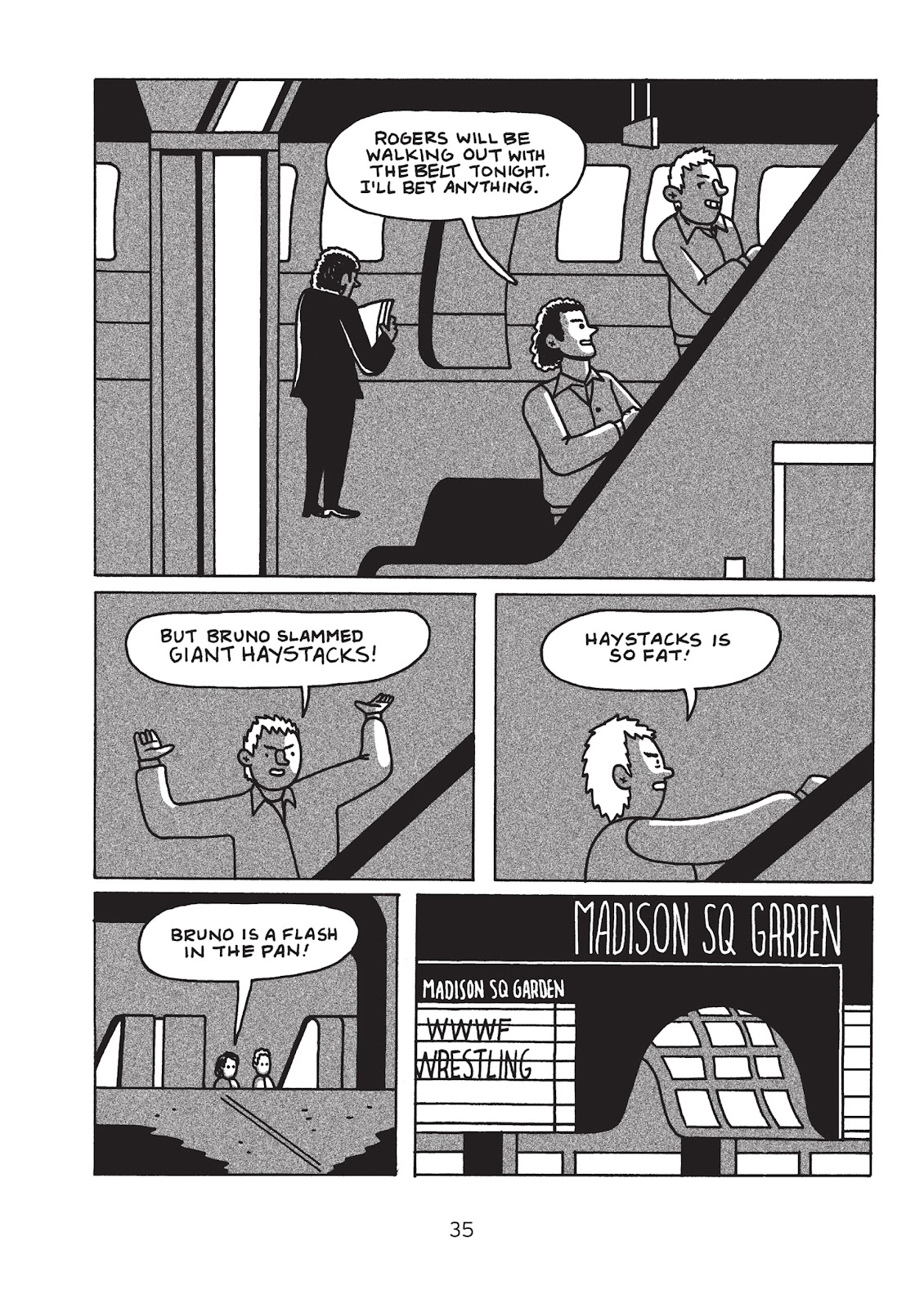 Read online Is This Guy For Real?: The Unbelievable Andy Kaufman comic -  Issue # TPB (Part 1) - 40
