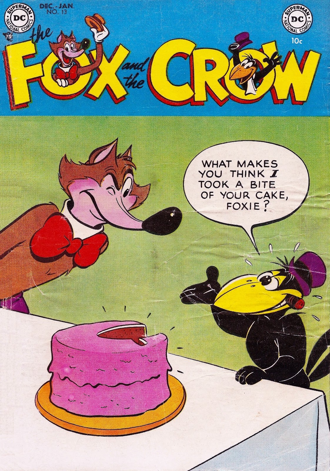 The Fox and the Crow issue 13 - Page 1