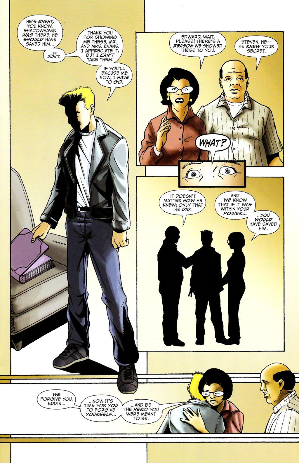 Read online ShadowHawk (2005) comic -  Issue #11 - 15