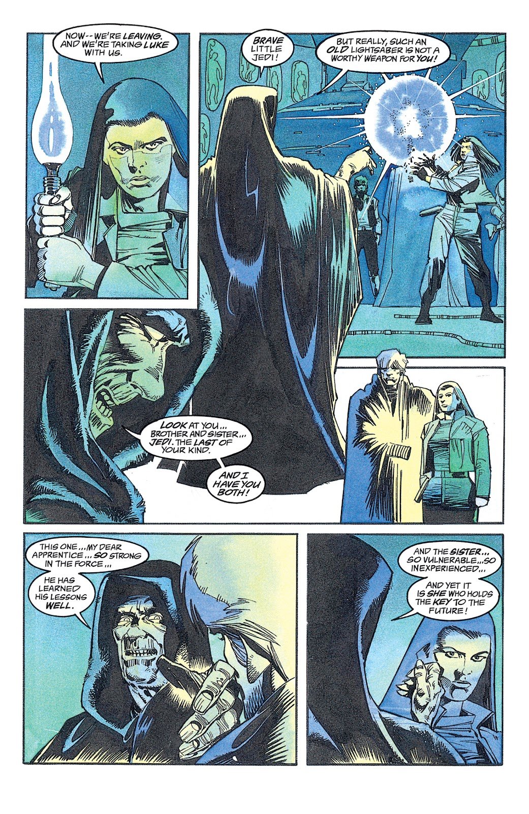 Read online Star Wars: Dark Empire Trilogy comic -  Issue # TPB (Part 2) - 2