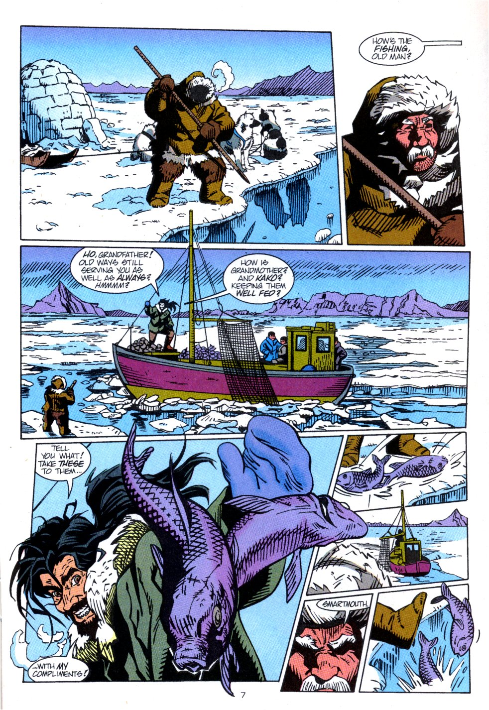 Read online Aquaman: Time and Tide comic -  Issue #3 - 8