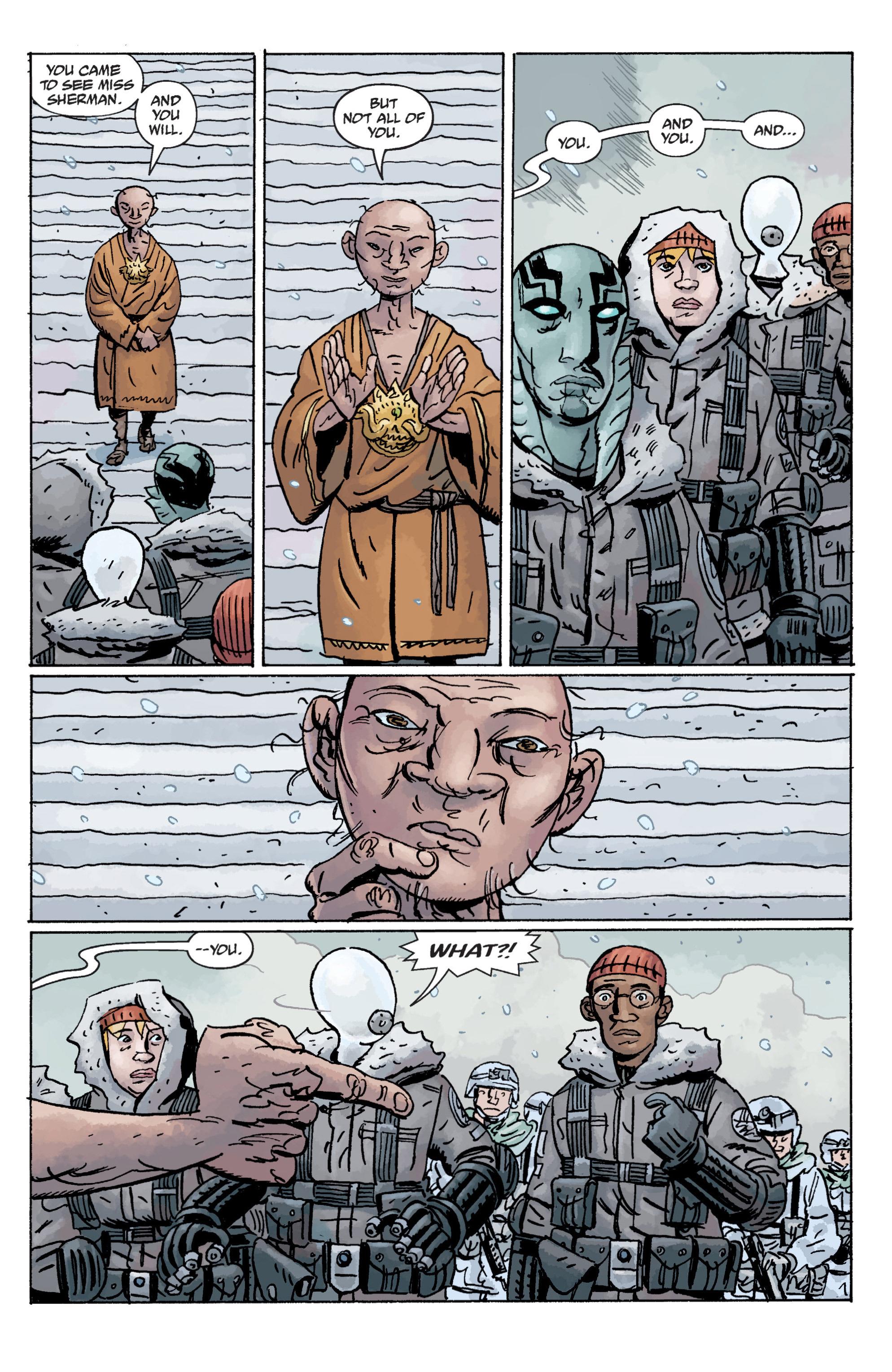 Read online B.P.R.D. (2003) comic -  Issue # TPB 11 - 39