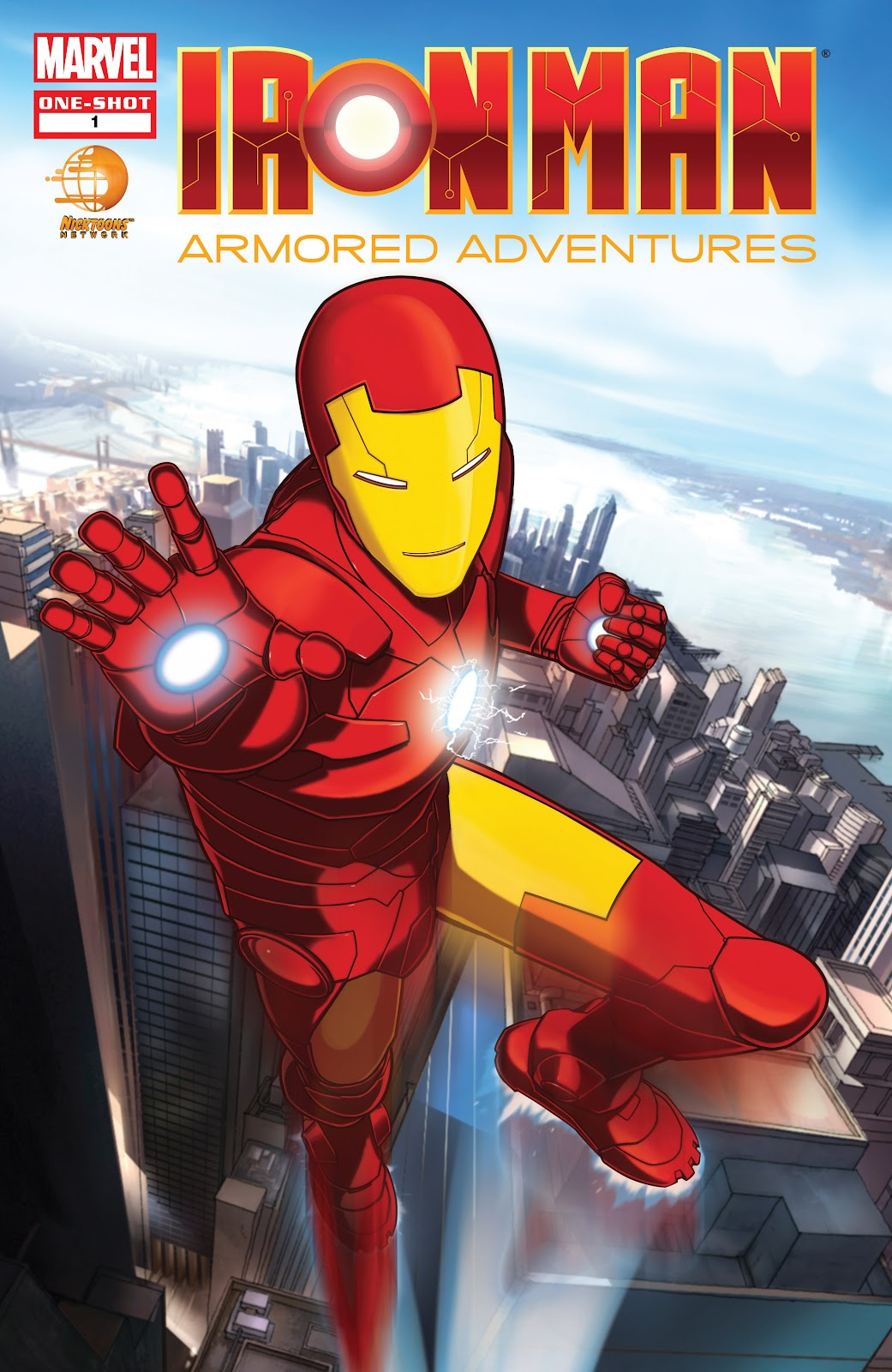 Iron Man: Armored Adventures issue Full - Page 1