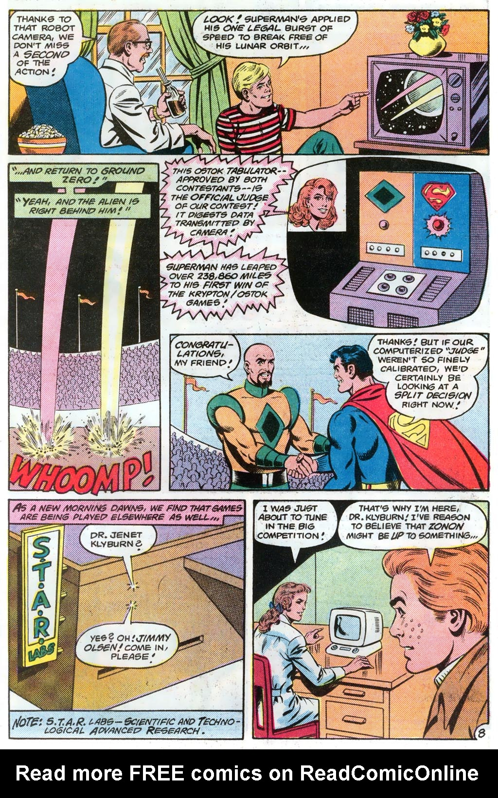 Read online Action Comics (1938) comic -  Issue #574 - 11