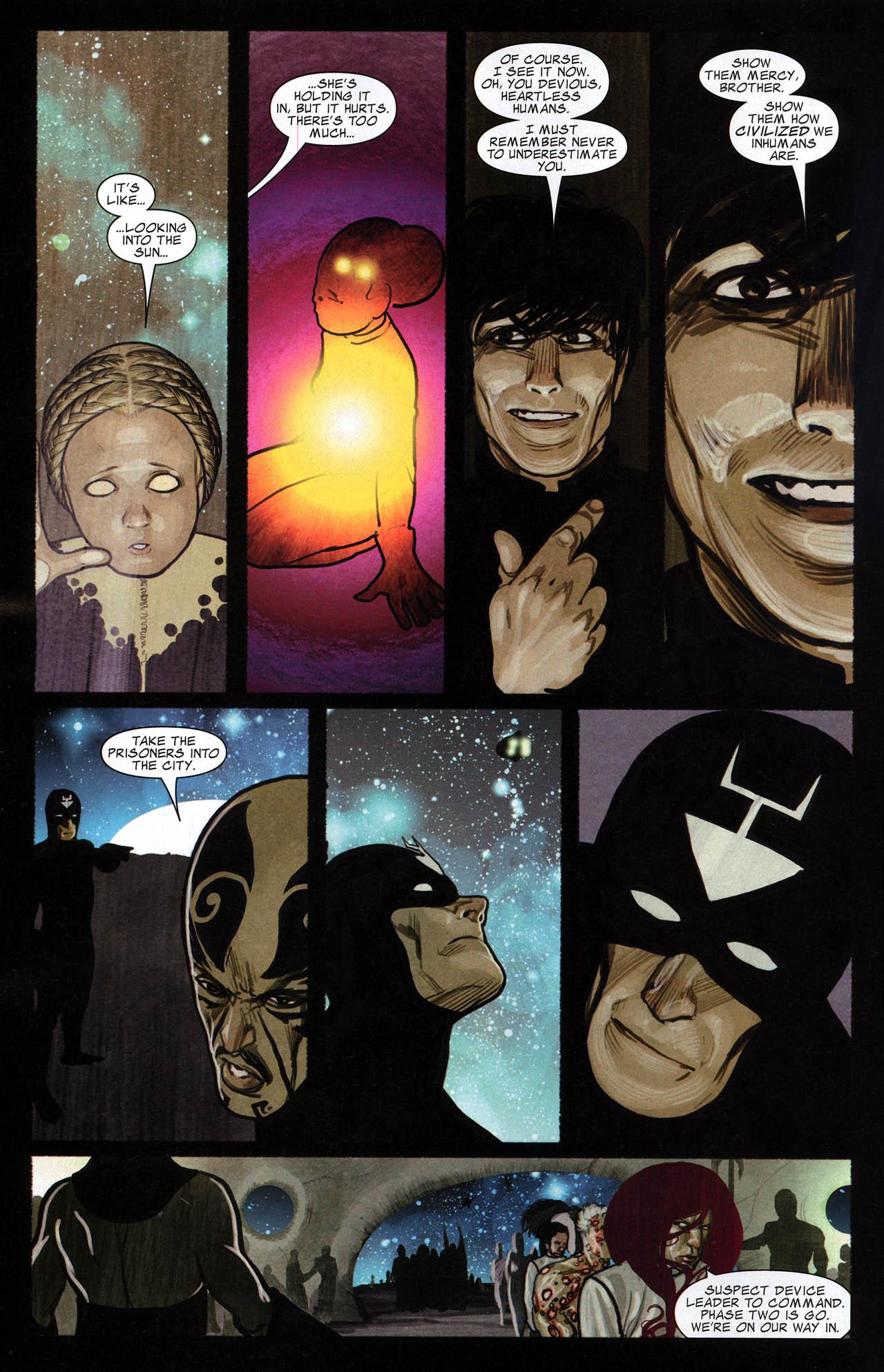 Read online Silent War comic -  Issue #6 - 15