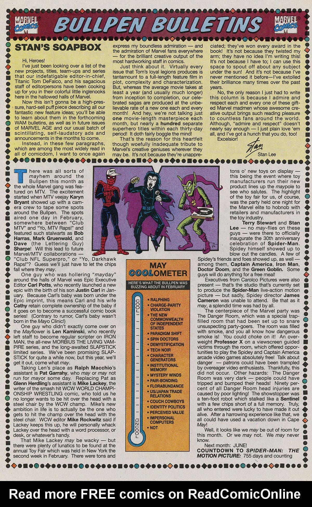 Read online Wonder Man (1991) comic -  Issue #11 - 19