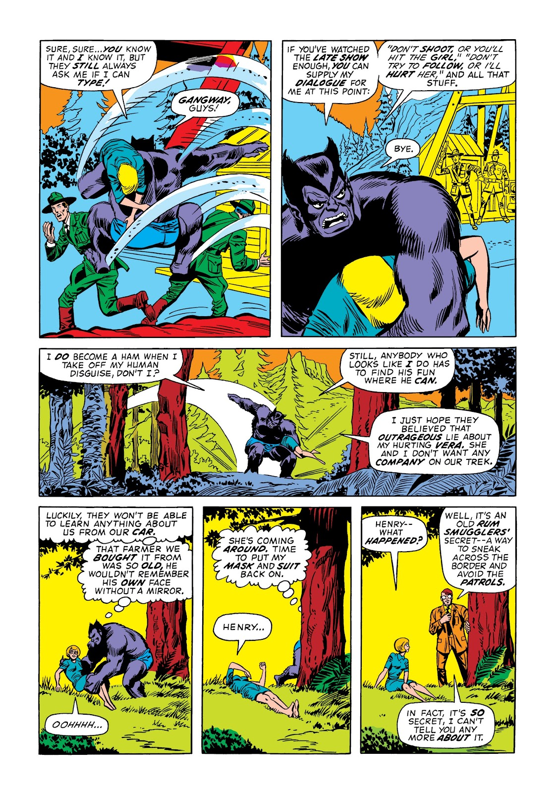 Read online Marvel Masterworks: The Incredible Hulk comic -  Issue # TPB 9 (Part 1) - 100
