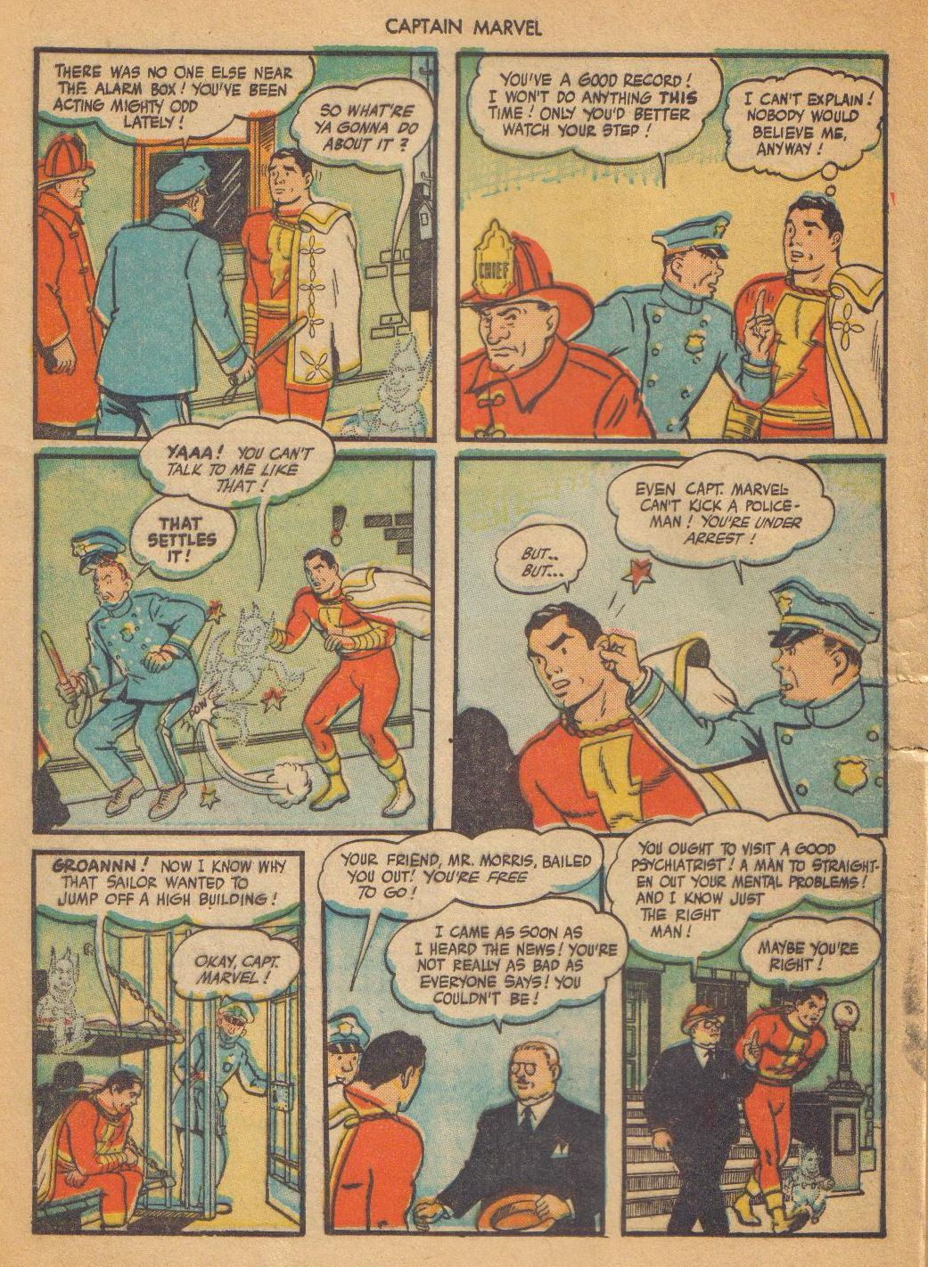 Captain Marvel Adventures issue 64 - Page 12