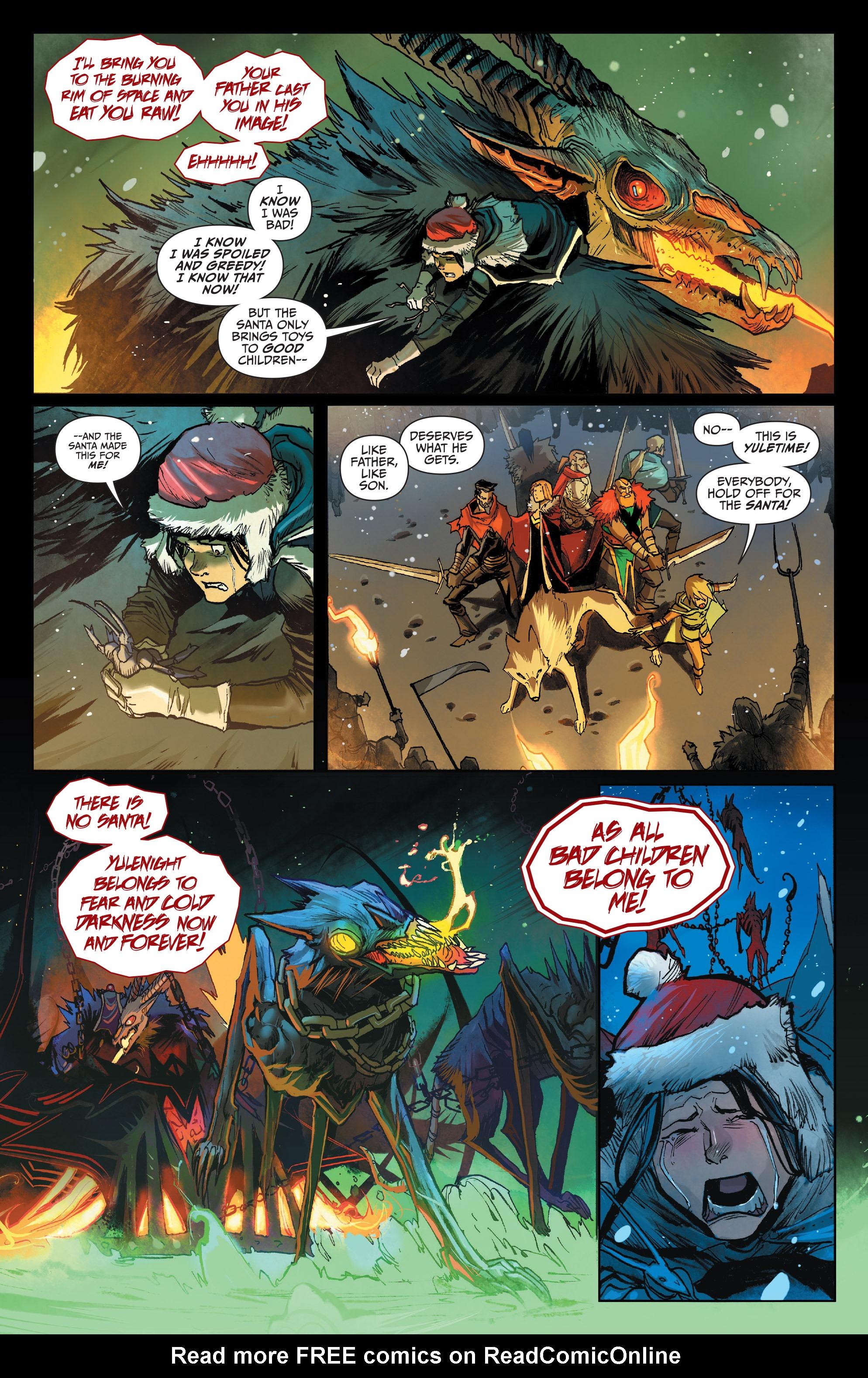 Read online Klaus comic -  Issue #7 - 21