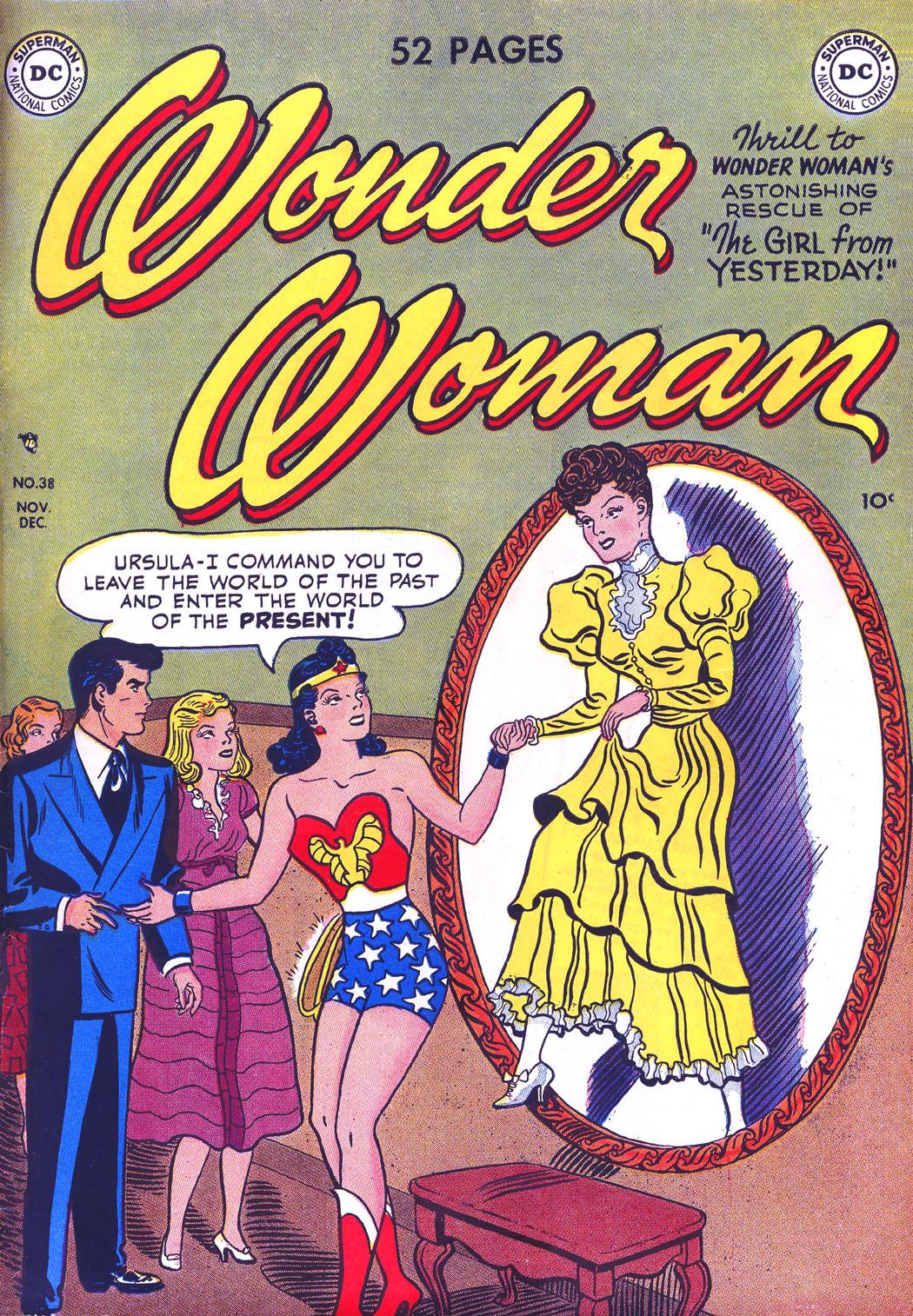 Read online Wonder Woman (1942) comic -  Issue #38 - 1