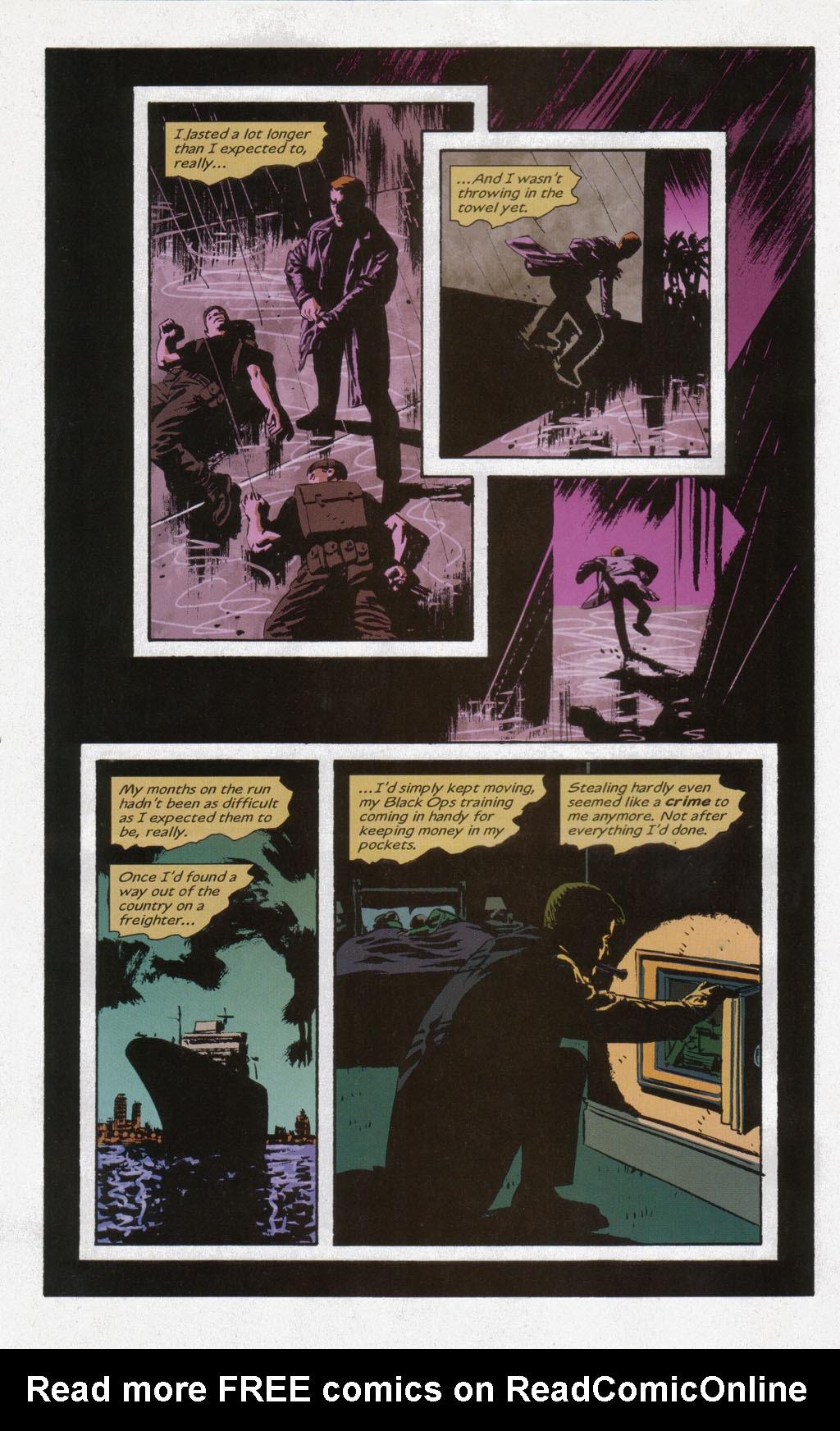 Read online Sleeper comic -  Issue #12 - 4