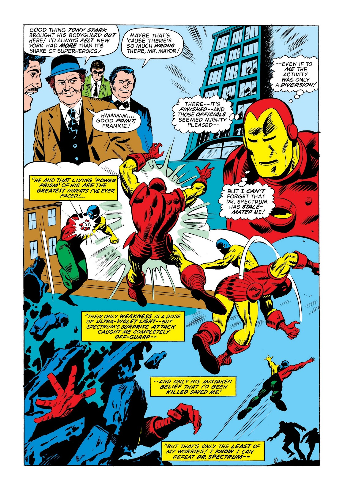 Read online Marvel Masterworks: The Invincible Iron Man comic -  Issue # TPB 9 (Part 3) - 17