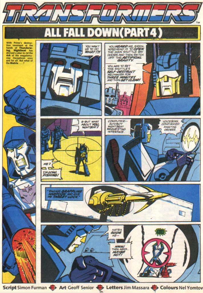 The Transformers (UK) 297 Page 1