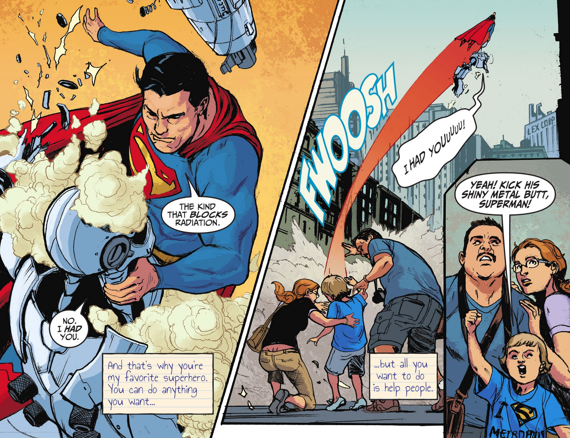 Read online Adventures of Superman [I] comic -  Issue #28 - 14