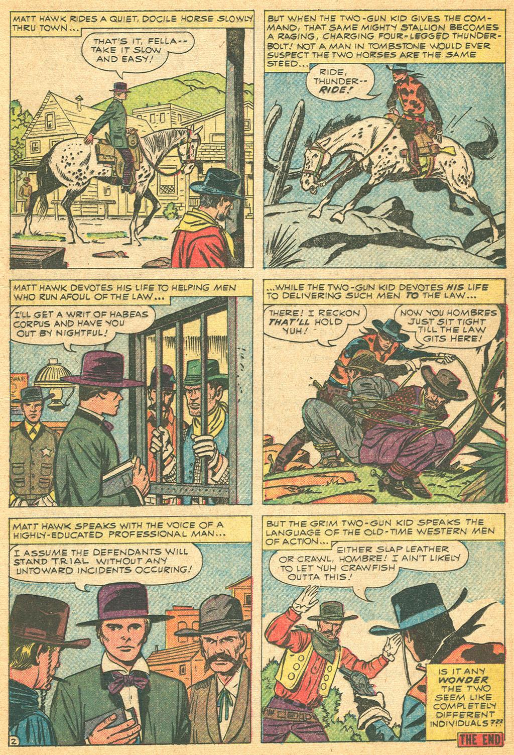 Read online Two-Gun Kid comic -  Issue #61 - 17