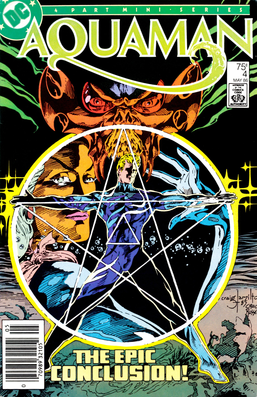 Aquaman (1986) 4 Page 1