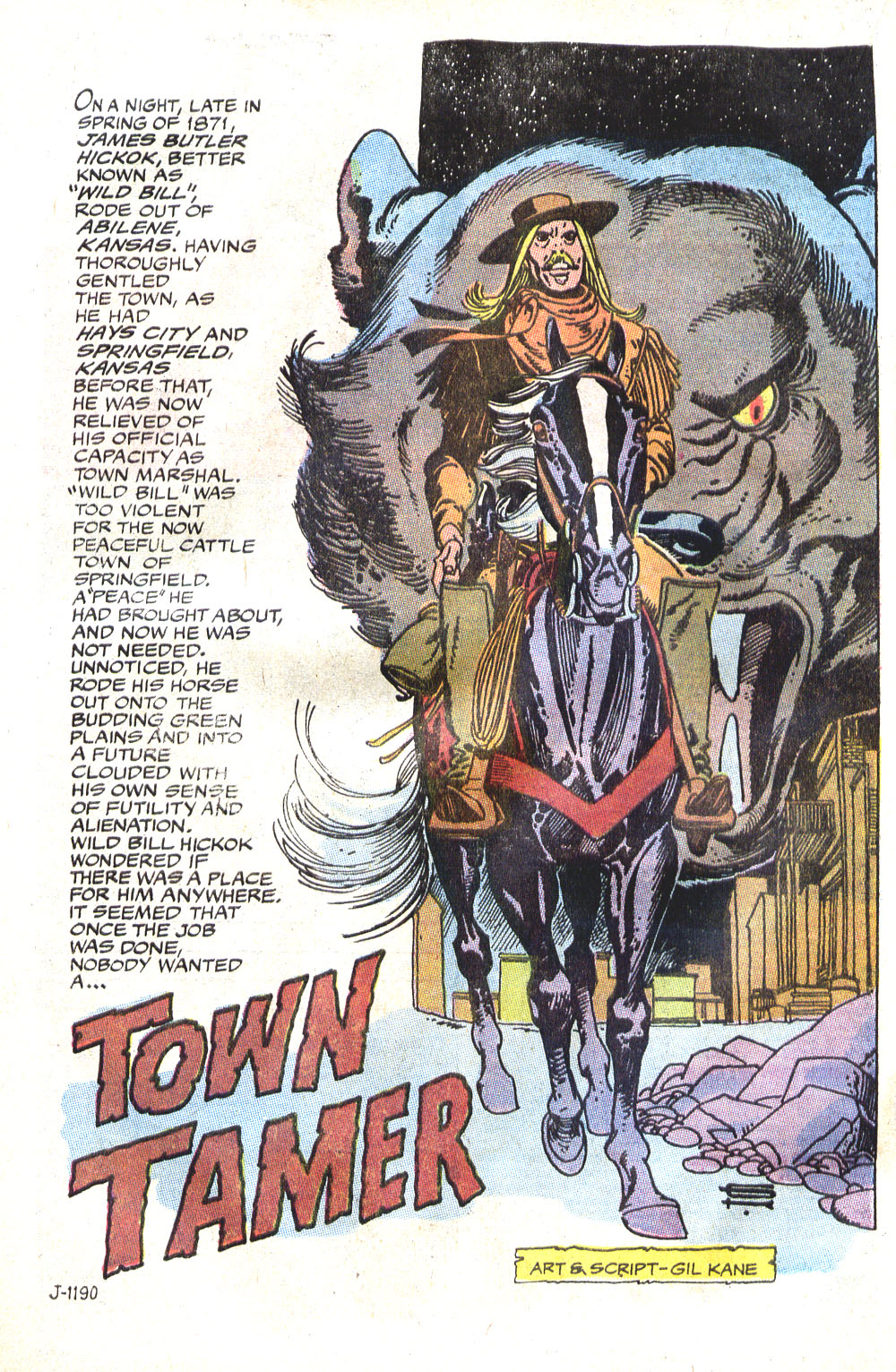 Read online All-Star Western (1970) comic -  Issue #6 - 20