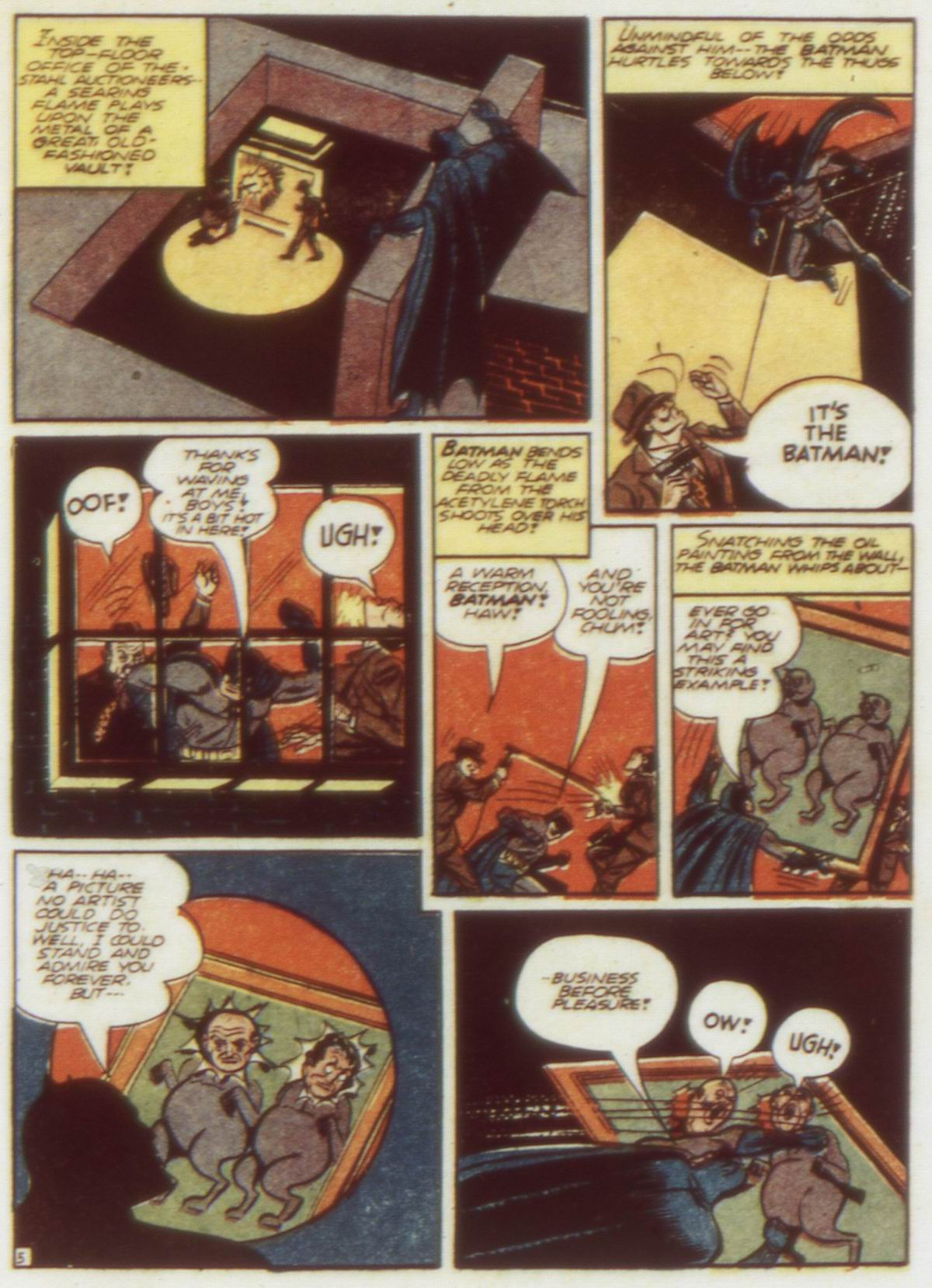 Read online Detective Comics (1937) comic -  Issue #58 - 7