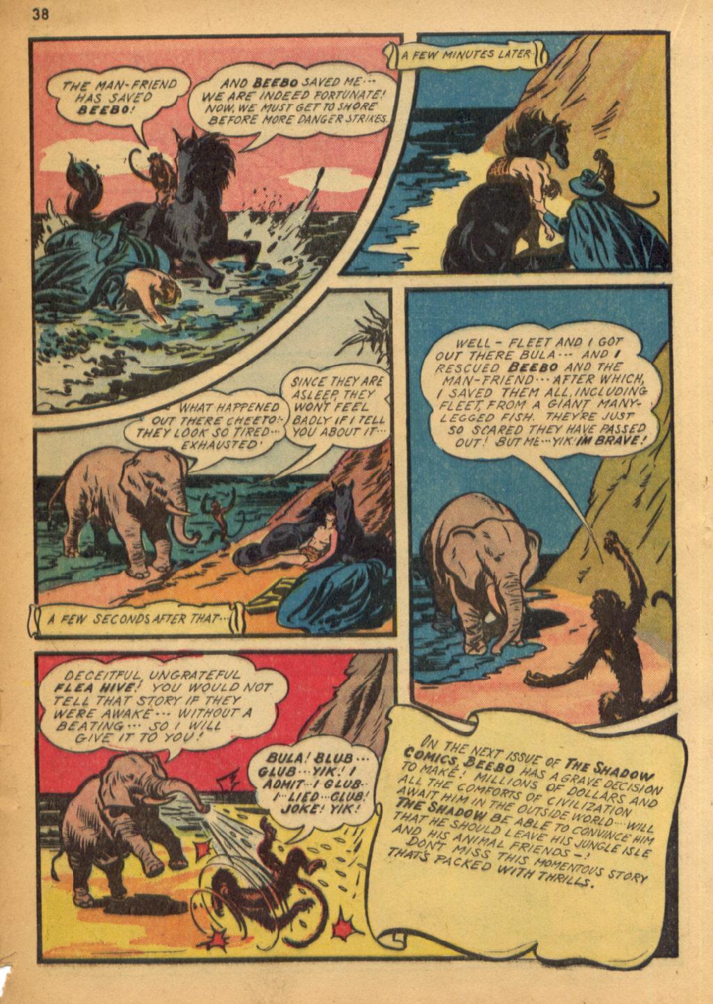 Read online Shadow Comics comic -  Issue #32 - 39