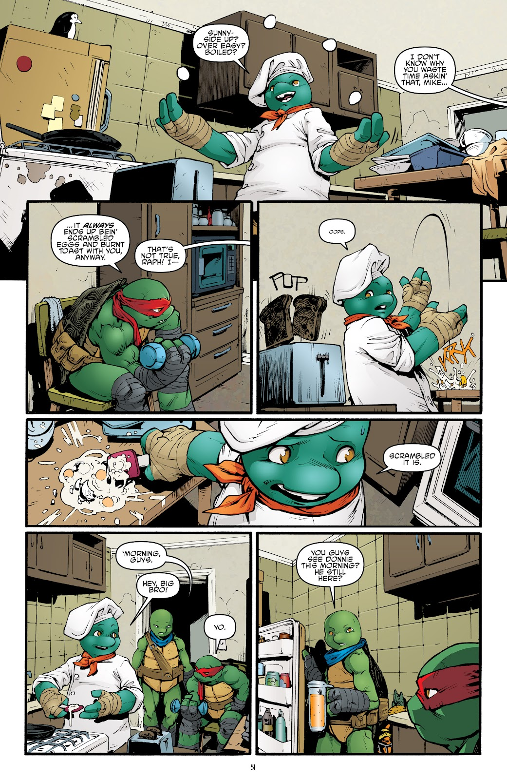 Read online Teenage Mutant Ninja Turtles: The IDW Collection comic -  Issue # TPB 5 (Part 2) - 28