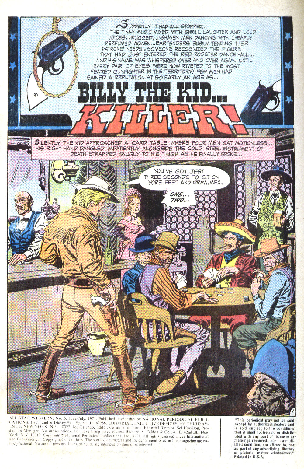 Read online All-Star Western (1970) comic -  Issue #6 - 3
