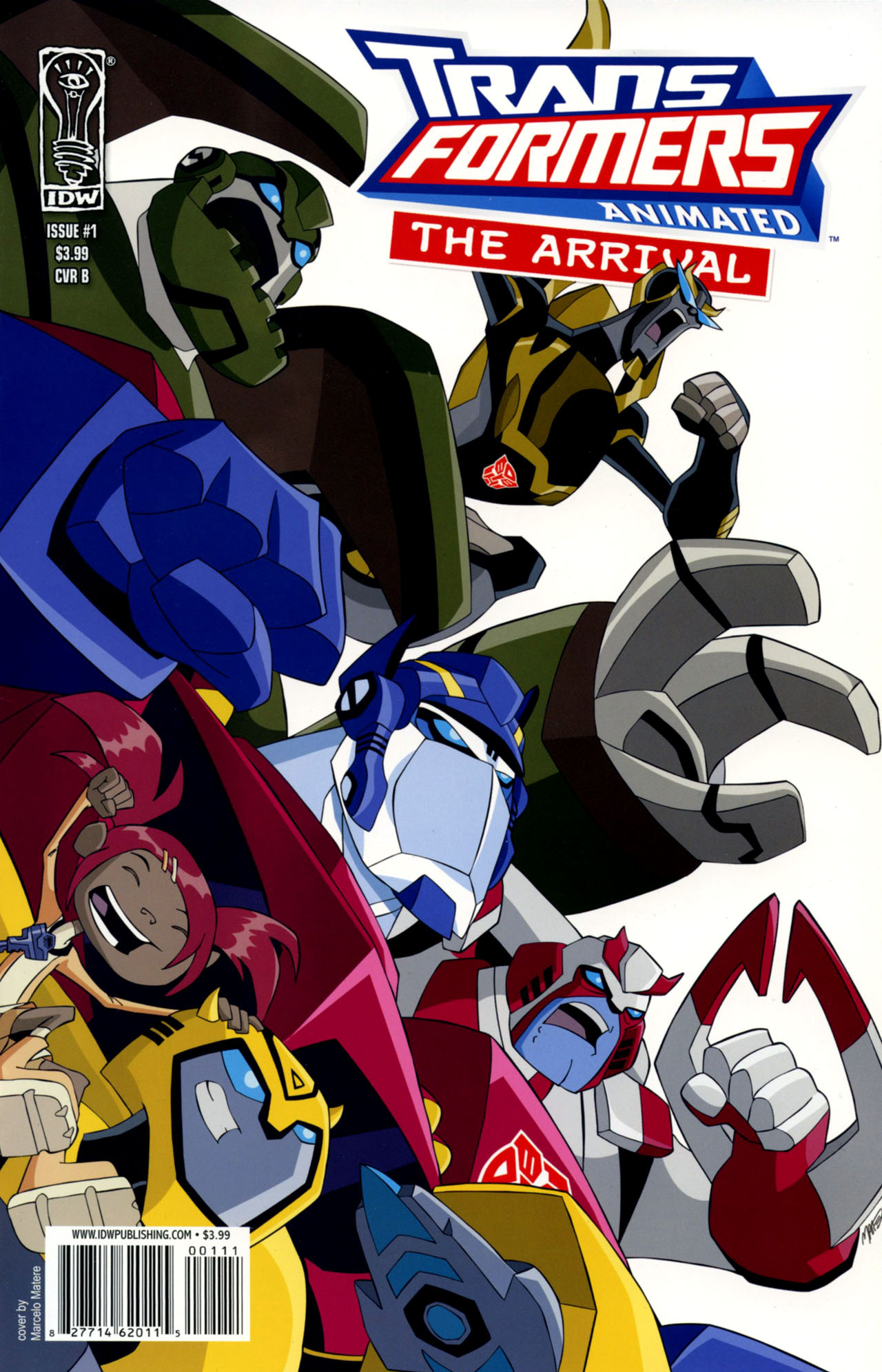 Read online Transformers Animated: The Arrival comic -  Issue #1 - 2