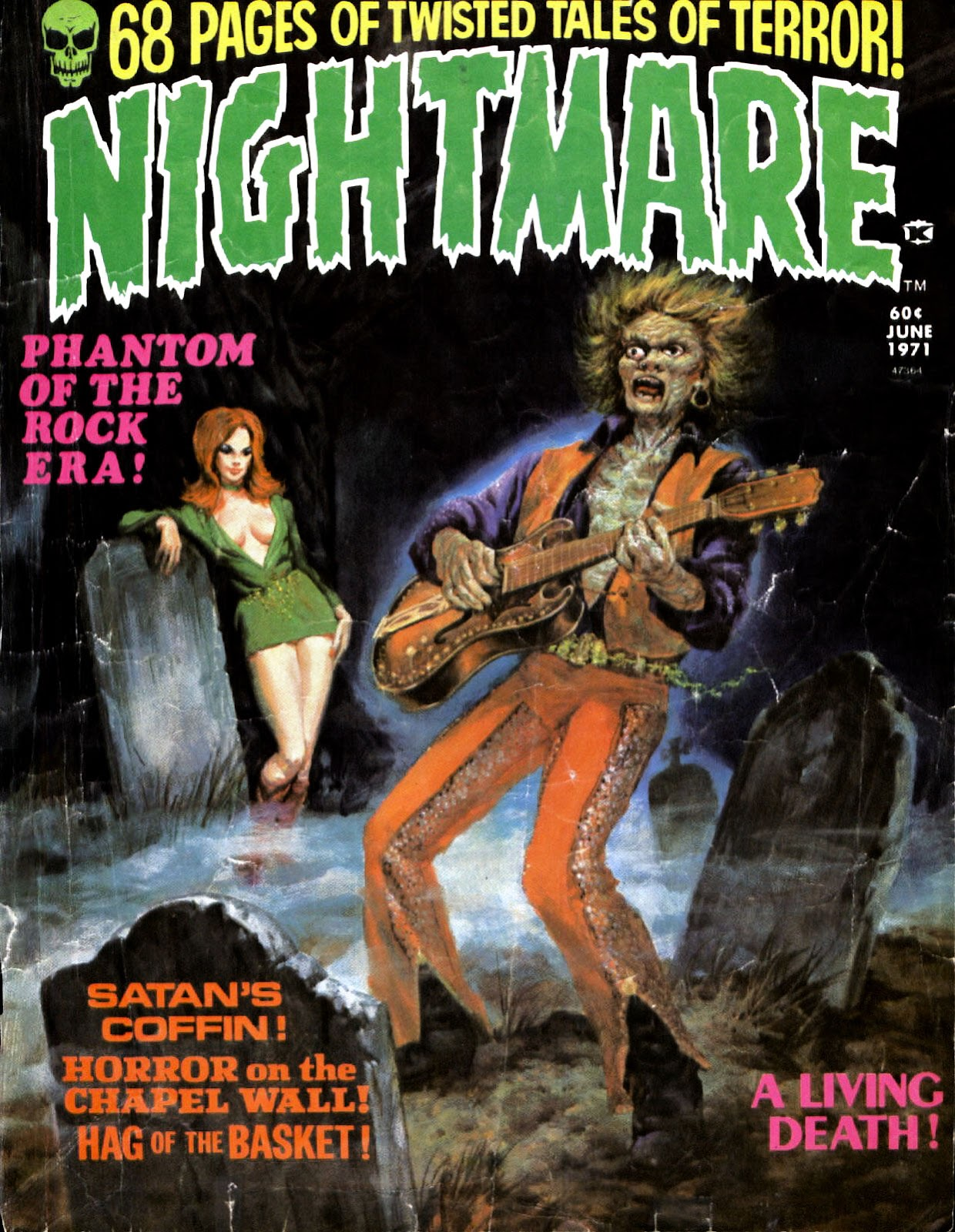 Nightmare (1970) issue 4 - Page 1