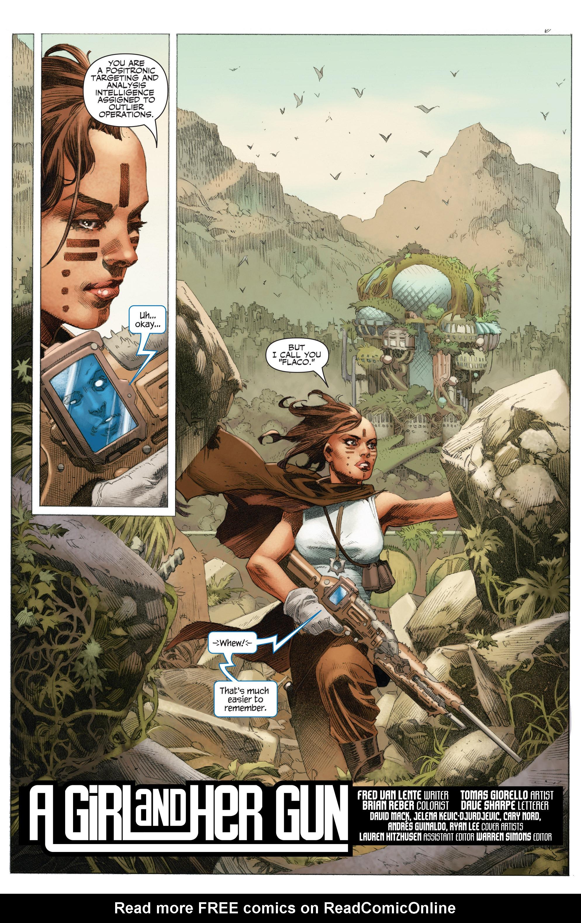 Read online 4001 A.D.: War Mother comic -  Issue #4001 A.D.: War Mother Full - 7