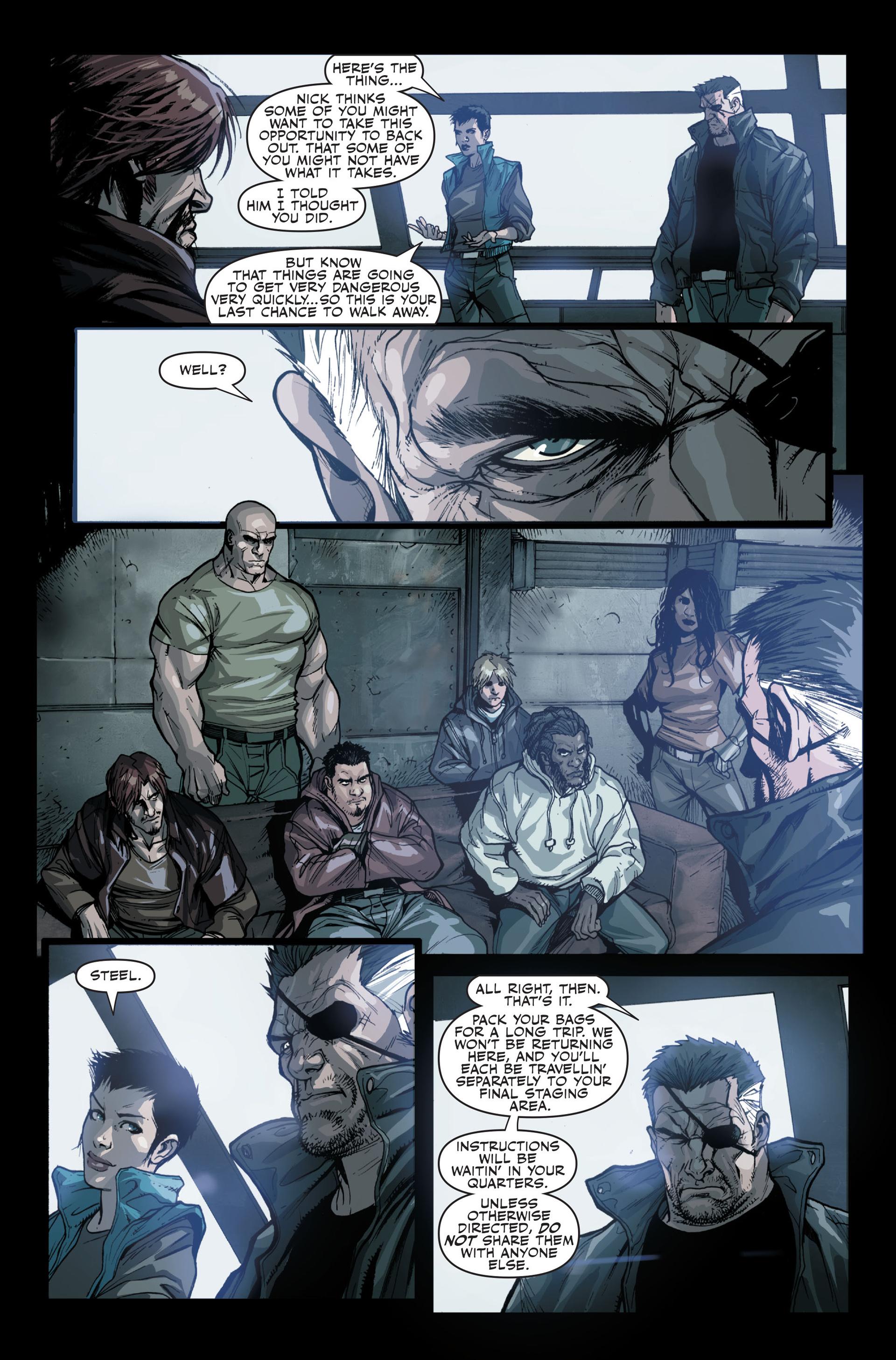 Read online Secret Warriors comic -  Issue #13 - 23