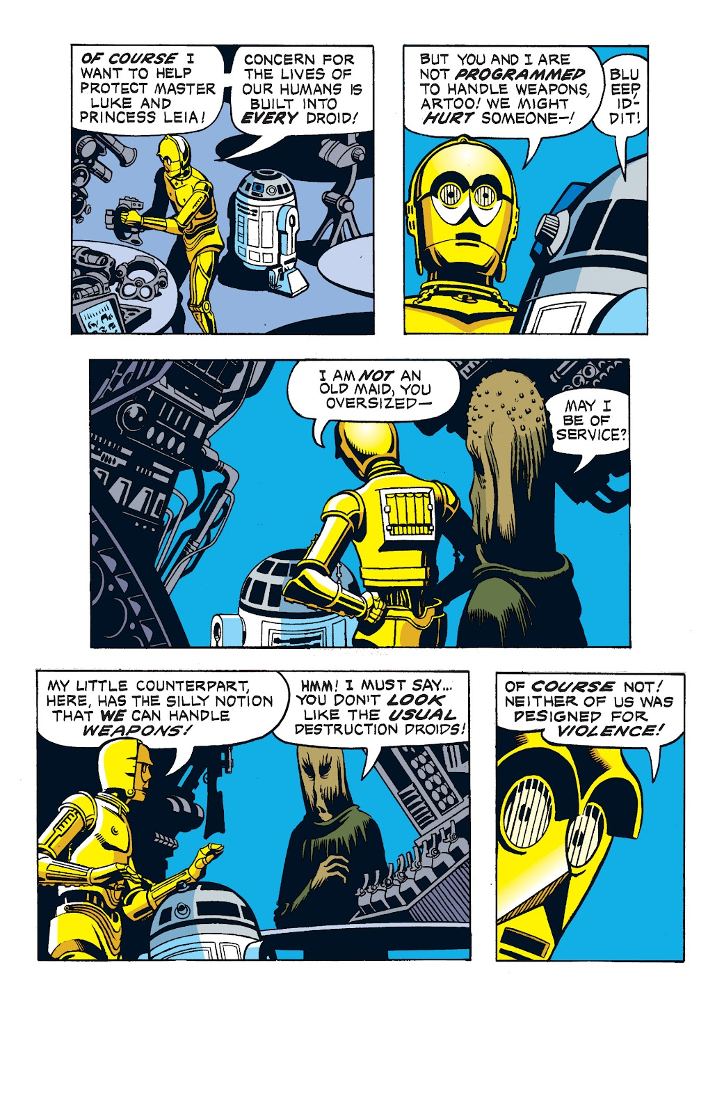 Read online Star Wars Legends: The Newspaper Strips - Epic Collection comic -  Issue # TPB (Part 1) - 80