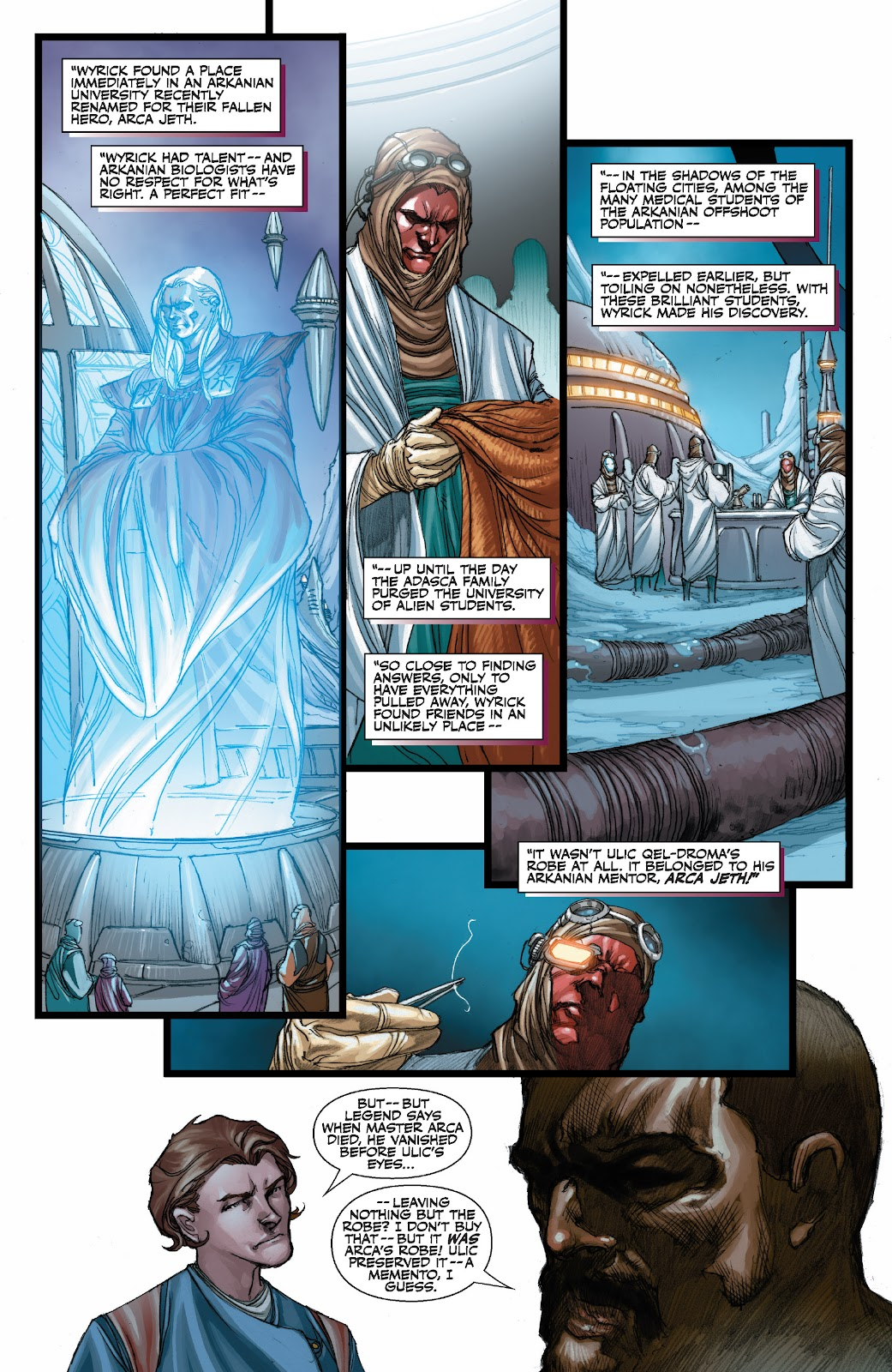 Read online Star Wars Legends: The Old Republic - Epic Collection comic -  Issue # TPB 3 (Part 3) - 42