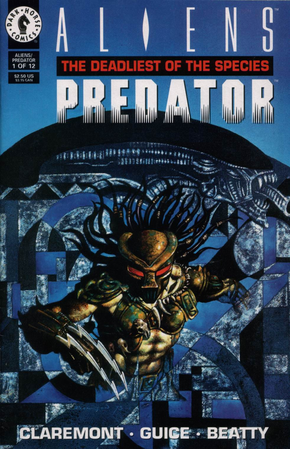 Aliens/Predator: The Deadliest of the Species 1 Page 1