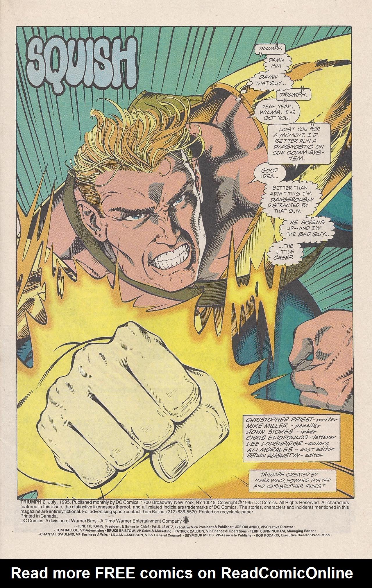 Read online Triumph comic -  Issue #2 - 3