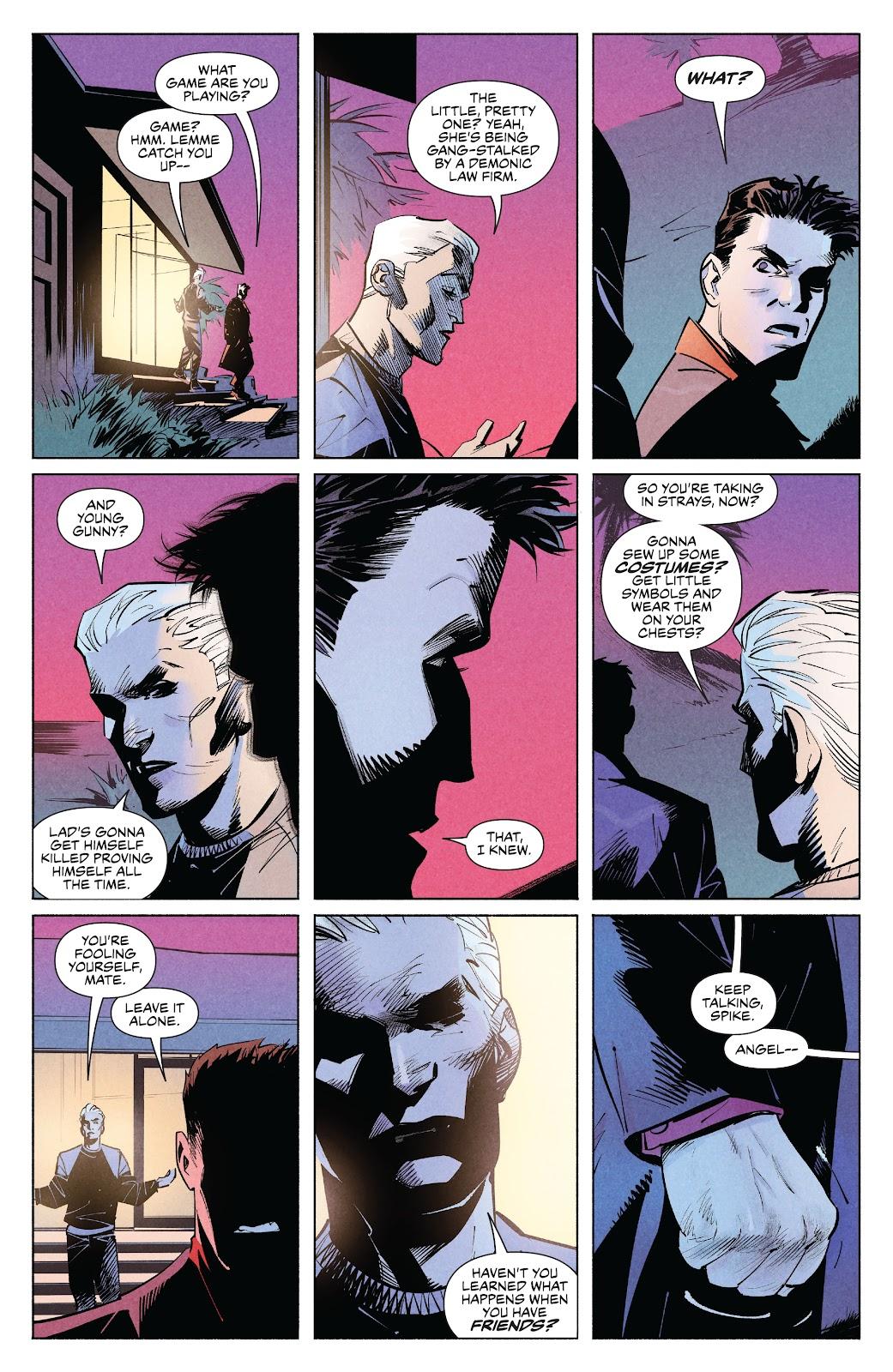Read online Angel   Spike comic -  Issue #9 - 8