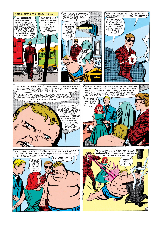 Read online Uncanny X-Men (1963) comic -  Issue #3 - 9