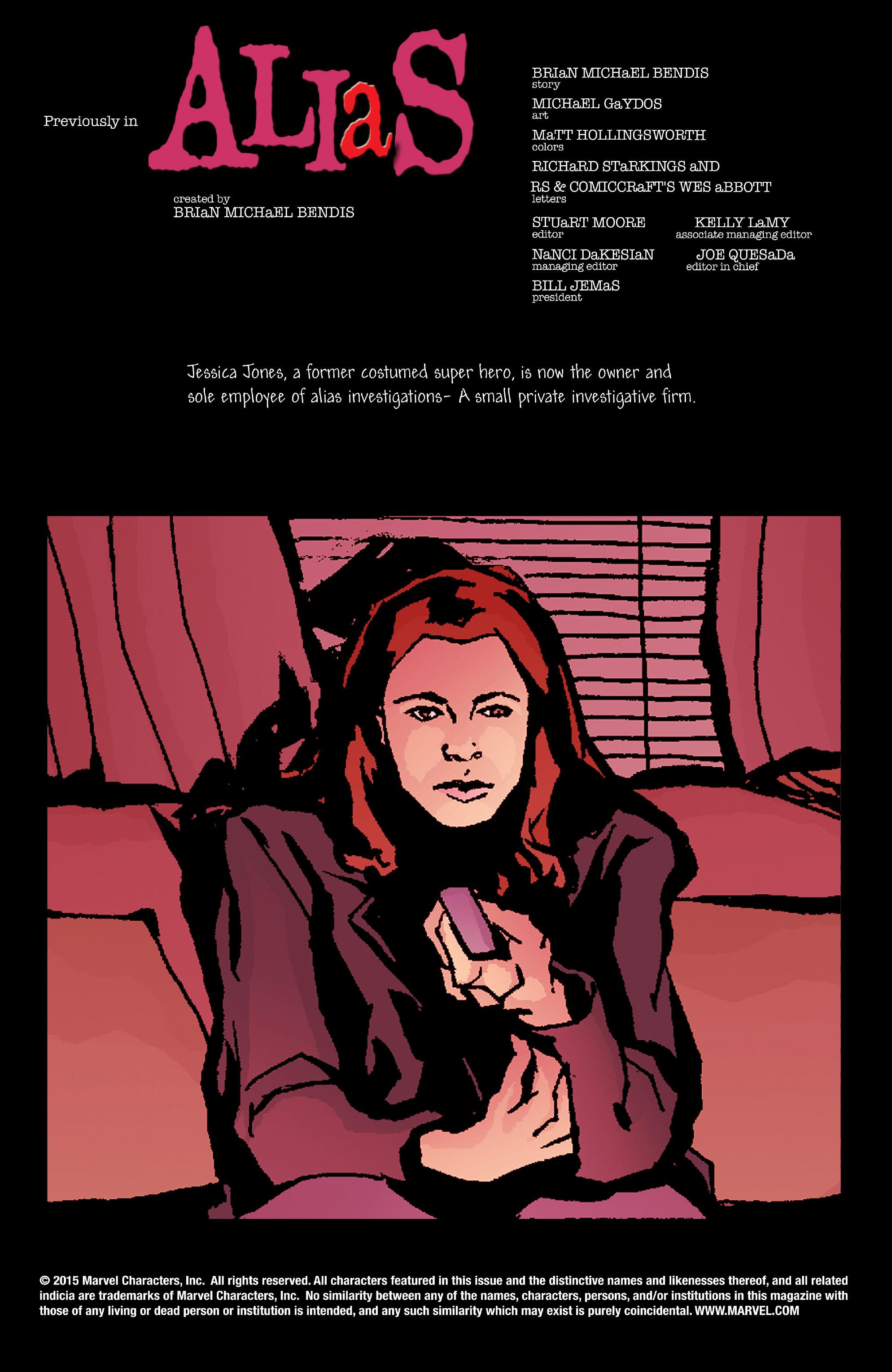Read online Alias comic -  Issue #2 - 2