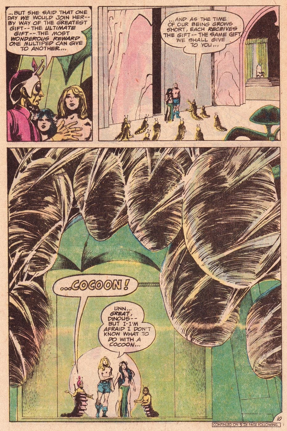 Kamandi, The Last Boy On Earth issue 54 - Page 12