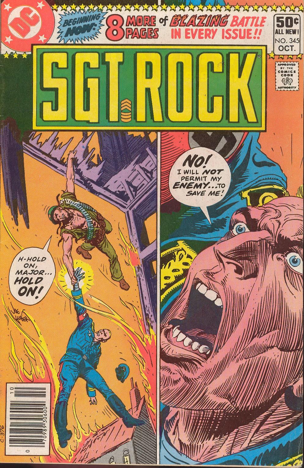 Read online Sgt. Rock comic -  Issue #345 - 1