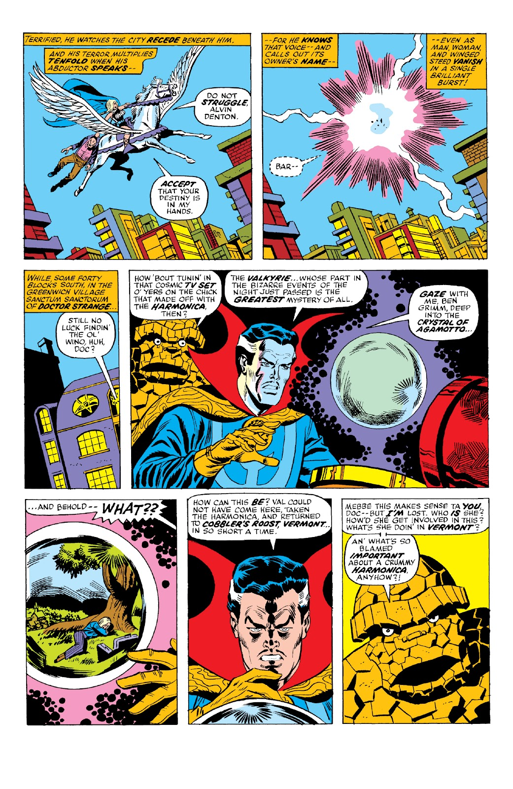 Read online Marvel Two-In-One Epic Collection: Cry Monster comic -  Issue # TPB (Part 2) - 63