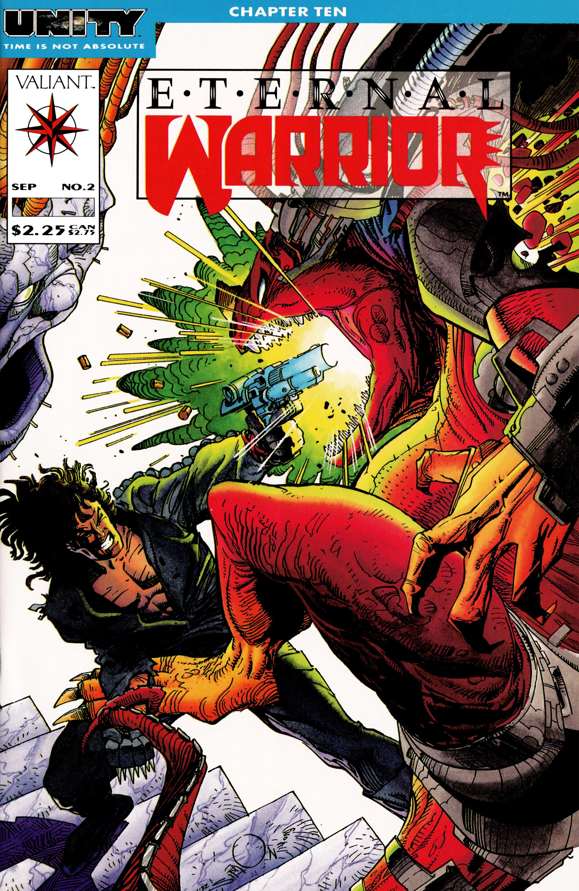 Read online Eternal Warrior (1992) comic -  Issue #2 - 1