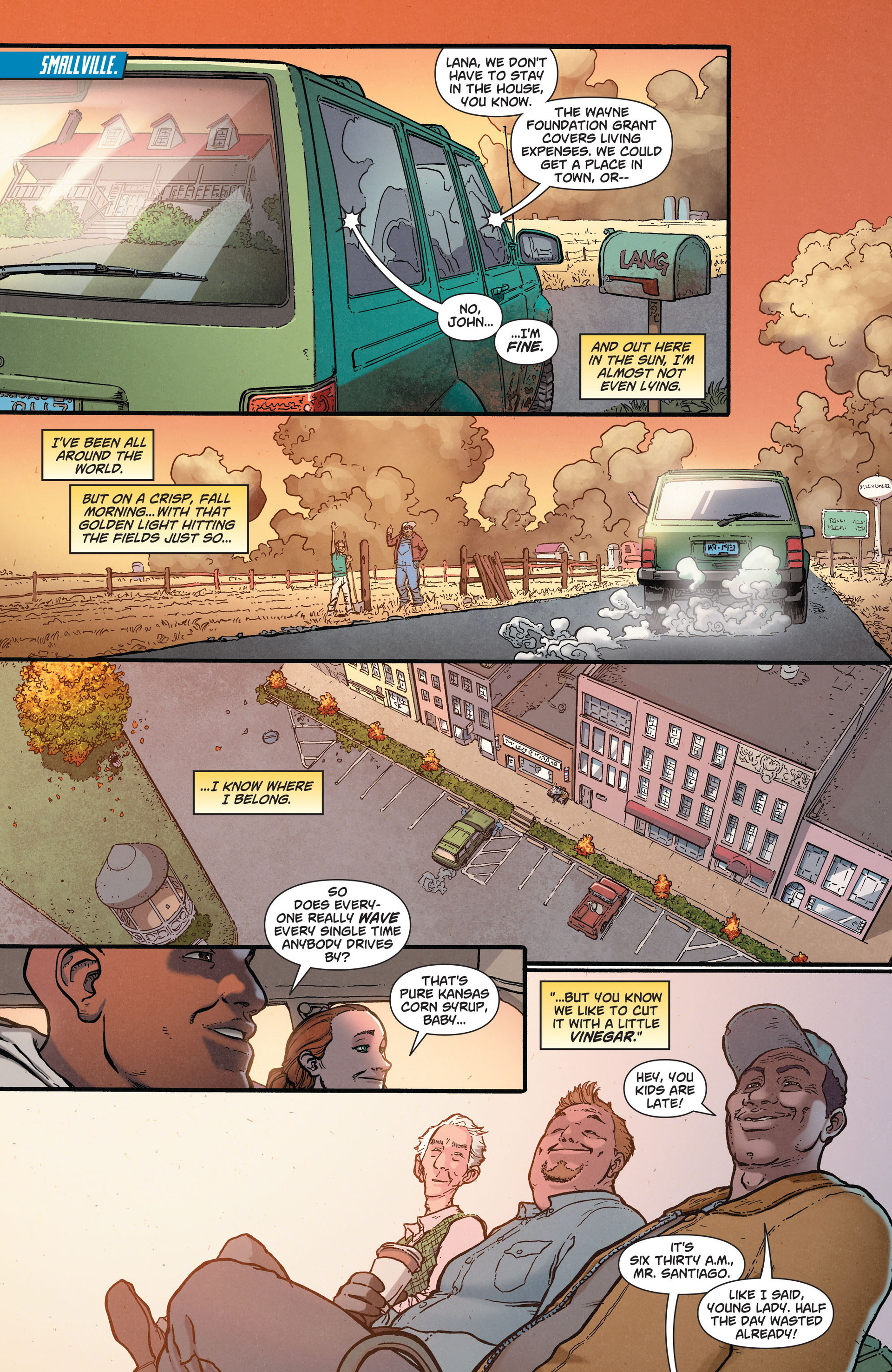 Read online Action Comics (2011) comic -  Issue #36 - 5