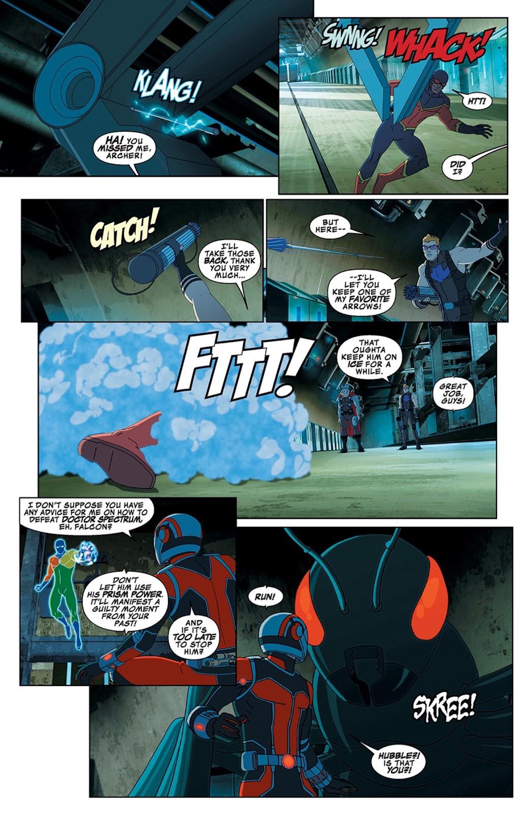 Read online Marvel Universe Avengers Assemble Season 2 comic -  Issue #13 - 13