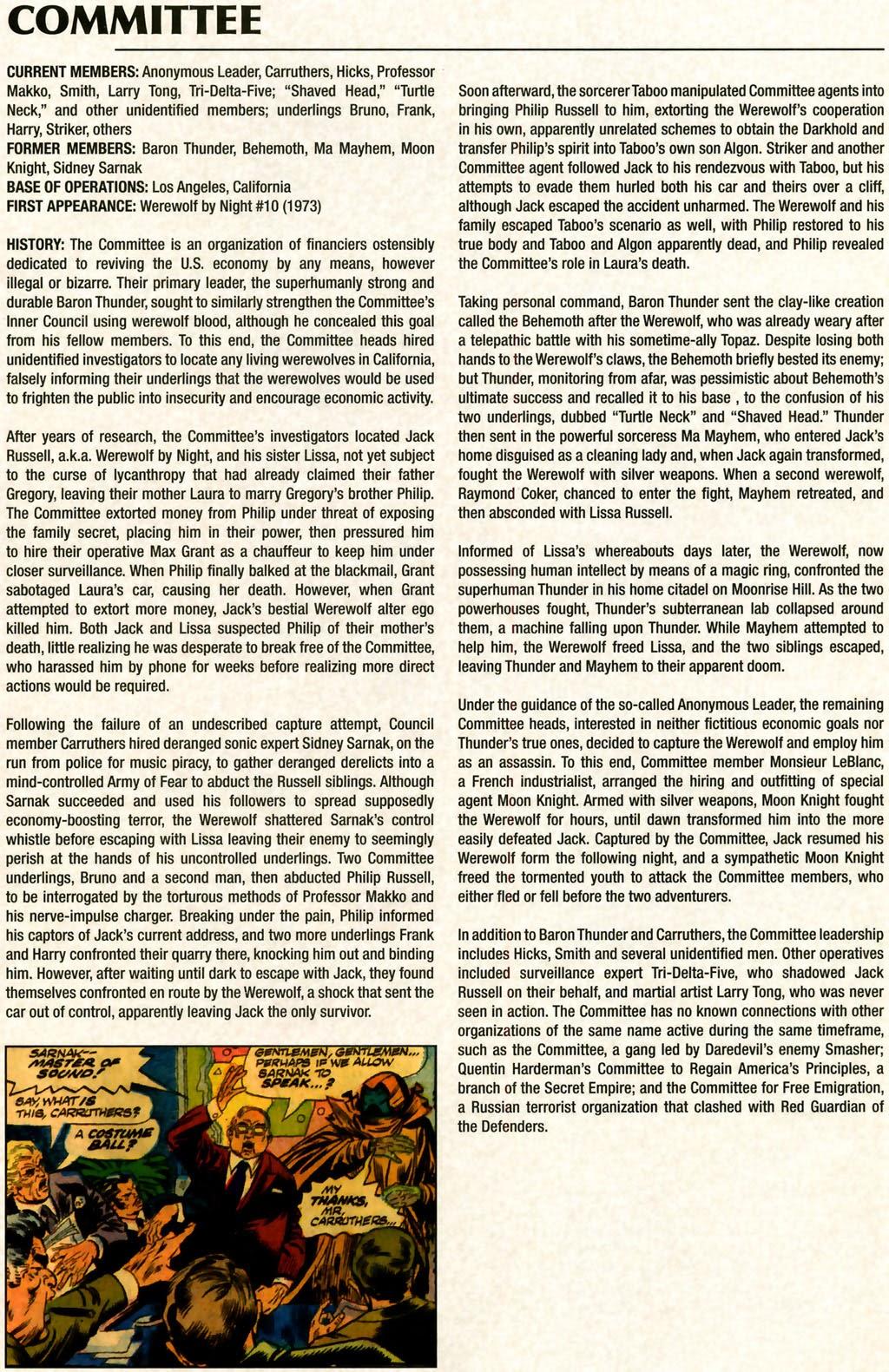 Read online Marvel Legacy: The 1970's Handbook comic -  Issue # Full - 10