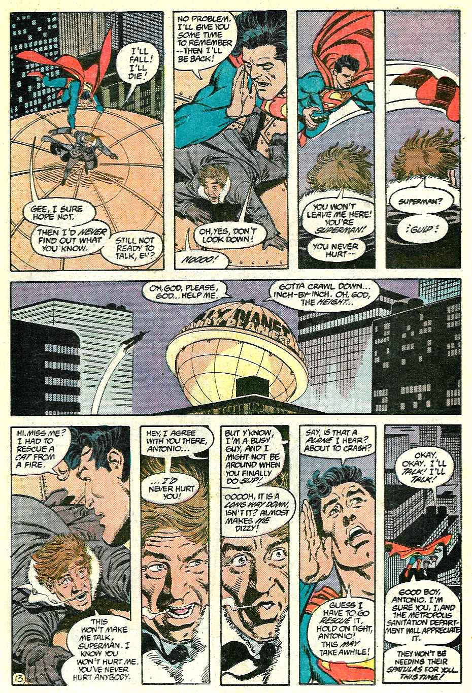Read online Adventures of Superman (1987) comic -  Issue #428 - 13