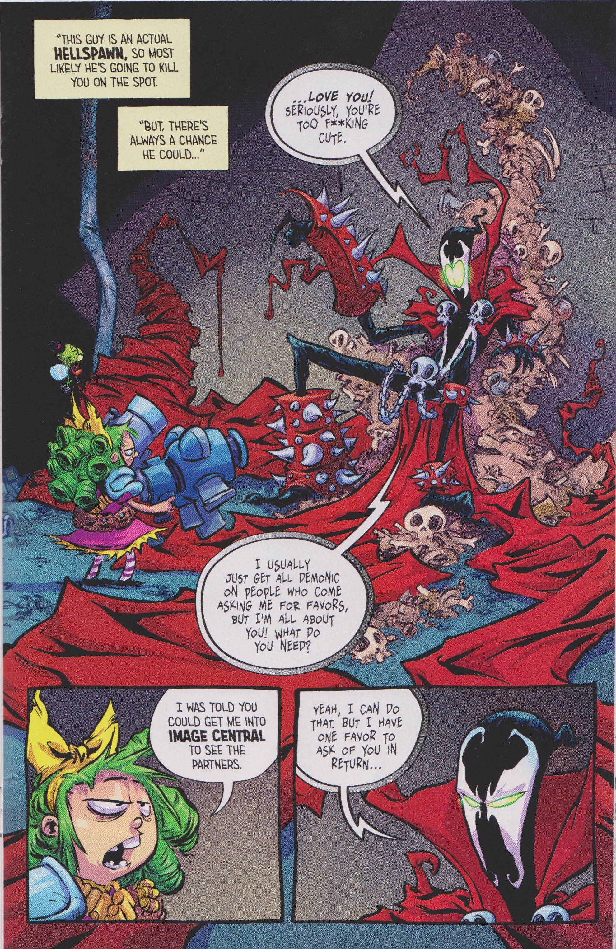 Read online Free Comic Book Day 2017 comic -  Issue # I Hate Image - 19