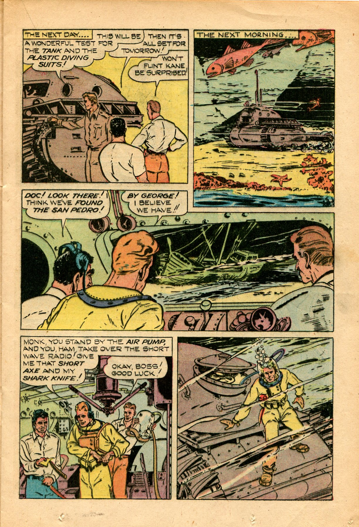 Read online Shadow Comics comic -  Issue #82 - 23