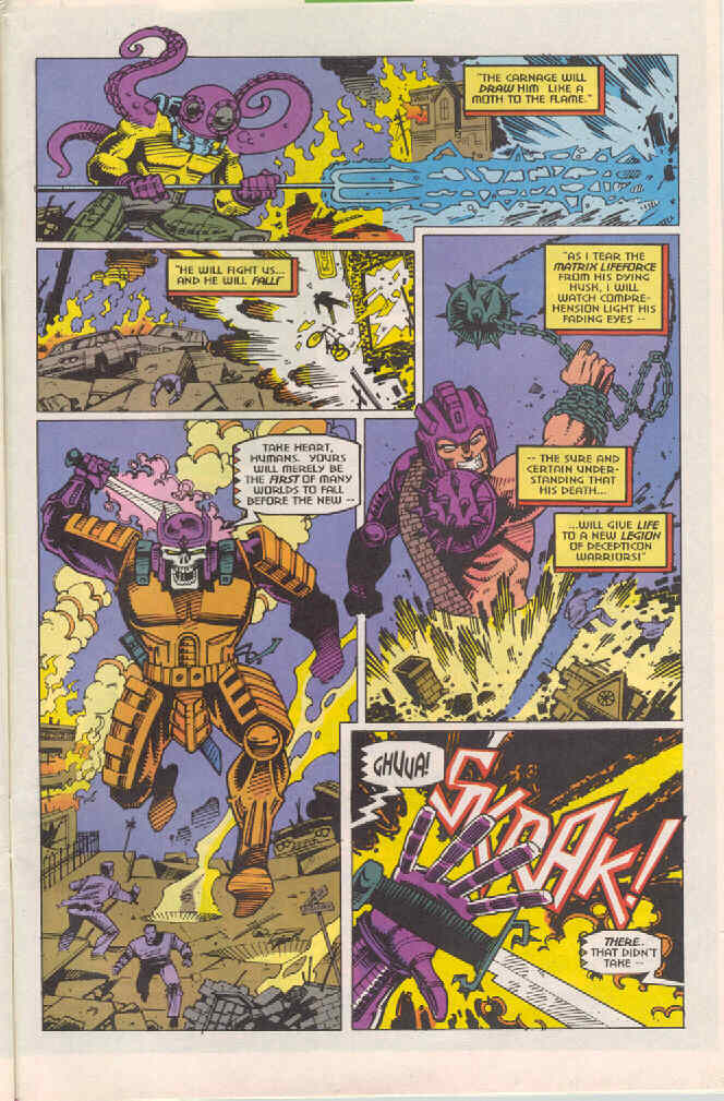 Read online Transformers: Generation 2 comic -  Issue #4 - 23