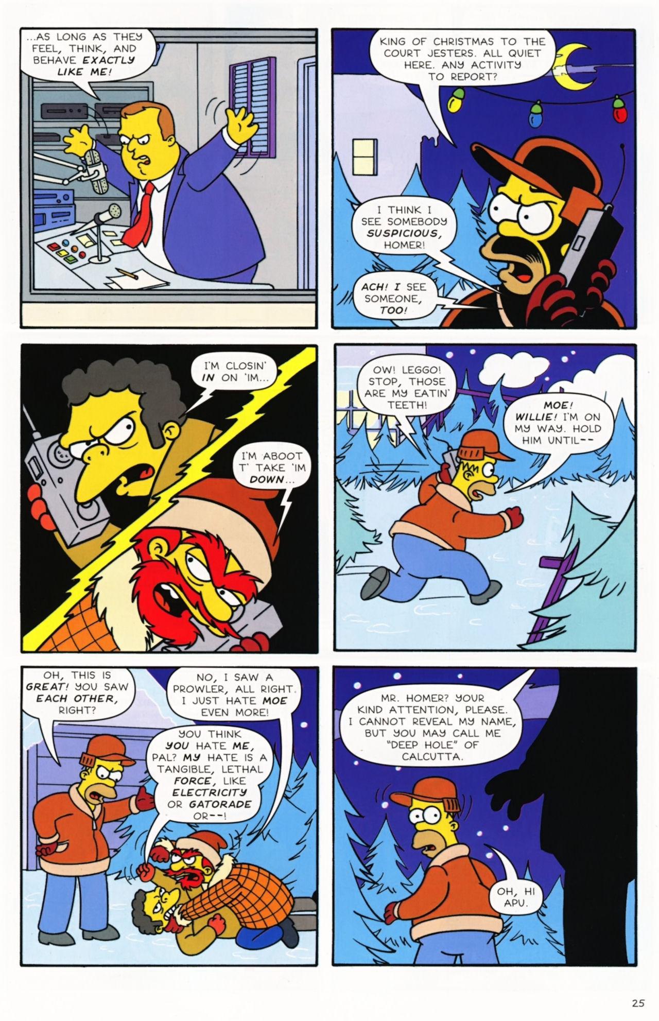 Read online Simpsons Comics comic -  Issue #172 - 27